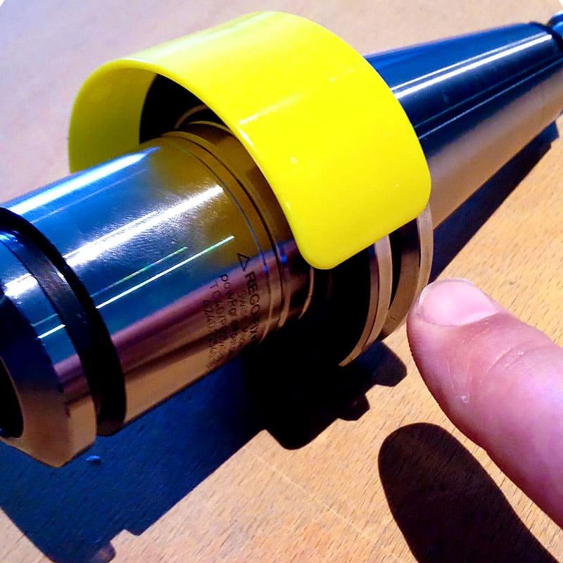 Datenclip für Werkzeugaufnahmen SK40 und HSK63